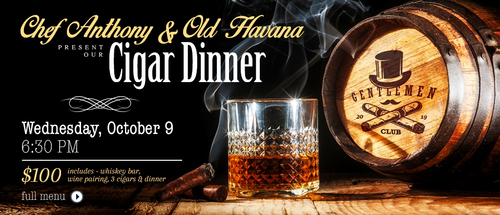 Old Havana Cigar Dinner